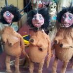 サンティエゴさんの人形s