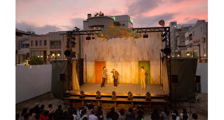 Flying Theatre 空中劇場 『遥かなるブルレスケ~とんだ茶番劇~』