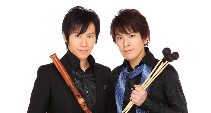 藤原道山×SINSKE「風神雷神」 ~尺八とマリンバによる世界最小オーケストラ~
